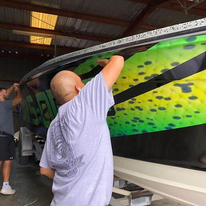 Truck and Car Wrap Company in Victoria Texas